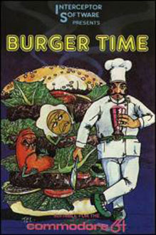 Juego online Burger Time (C64)