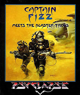 Portada de la descarga de Captain Fizz Meets the Blaster-Trons
