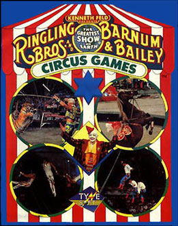 Juego online Circus Games (C64)