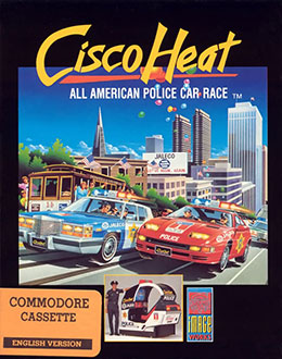 Juego online Cisco Heat: All American Police Car Race (C64)