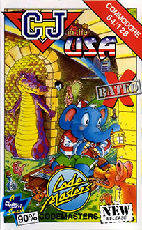 Juego online CJ in the USA (C64)