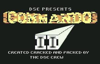 Juego online Commando II (C64)