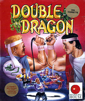 Portada de la descarga de Double Dragon