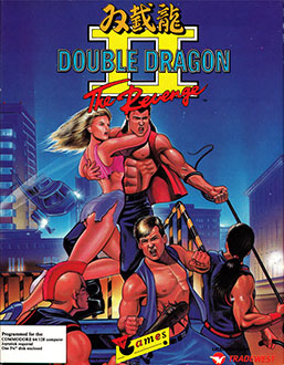 Juego online Double Dragon II: The Revenge (C64)