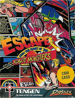 Juego online Escape From The Planet Of The Robot Monsters (C64)