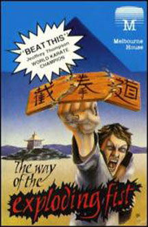 Carátula del juego The Way of the Exploding Fist (C64)