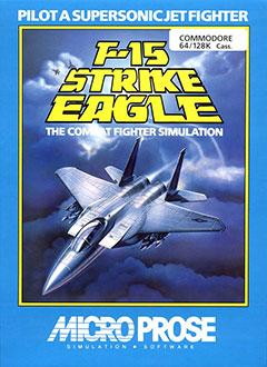 Portada de la descarga de F-15 Strike Eagle