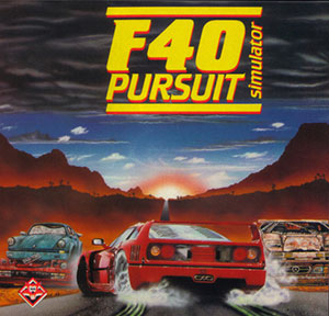 Portada de la descarga de F40 Pursuit Simulator