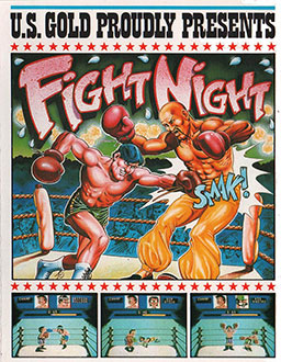 Portada de la descarga de Fight Night