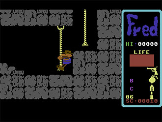 Pantallazo del juego online Fred (C64)