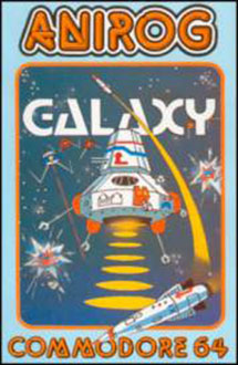Carátula del juego Galaxy (C64)
