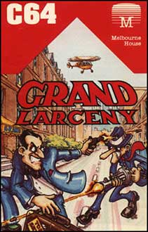 Juego online Grand Larceny (c64)