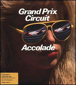 Juego online Grand Prix Circuit (C64)