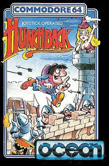 Carátula del juego HunchBack (C64)