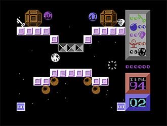 Pantallazo del juego online I Ball II (C64)
