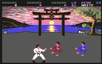 Pantallazo del juego online IK Plus (C64)