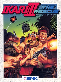Juego online Ikari III: The Rescue (C64)