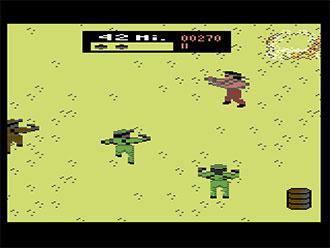 Pantallazo del juego online Ikari III The Rescue (C64)