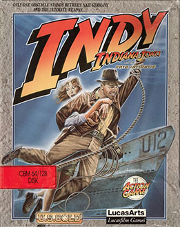 Juego online Indiana Jones and The Fate of Atlantis: The Action Game (C64)