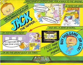 Juego online Jack the Nipper (C64)