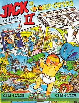 Portada de la descarga de Jack the Nipper II in Coconut Capers