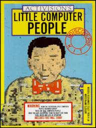 Juego online Little Computer People (C64)