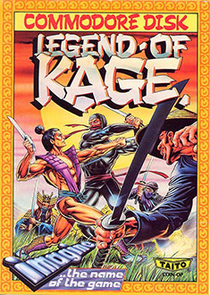 Juego online Legend of Kage (C64)
