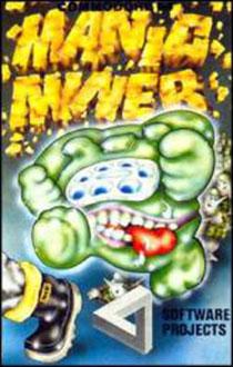 Carátula del juego Manic Miner (C64)