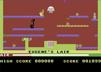 Pantallazo del juego online Manic Miner (C64)