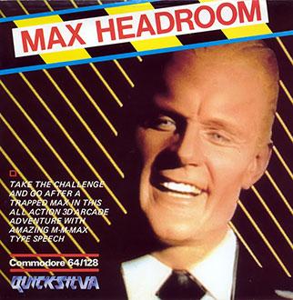Juego online Max Headroom (C64)