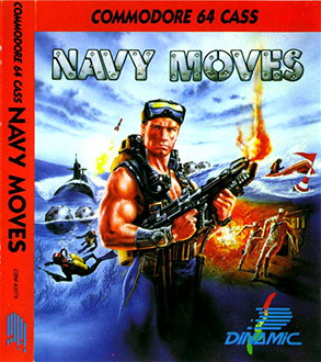 Juego online Navy Moves (C64)