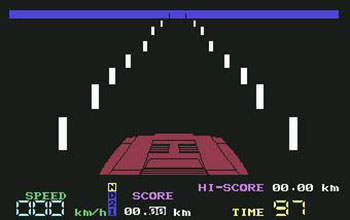 Juego online Night Driver (C64)