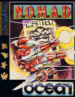 Juego online N.O.M.A.D. (C64)