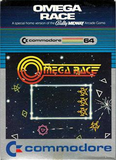 Portada de la descarga de Omega Race