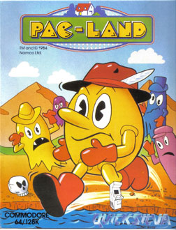 Juego online Pac-Land (C64)