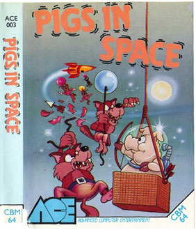 Juego online Pigs in Space (C64)