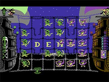Pantallazo del juego online Piracy (C64)