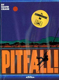 Portada de la descarga de Pitfall!