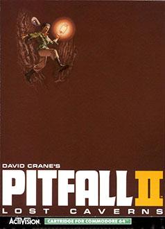 Portada de la descarga de Pitfall II: Lost Caverns