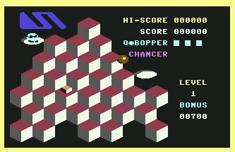 Juego online Q-Bopper (C64)