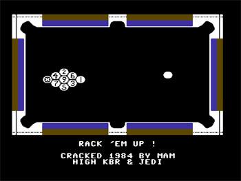 Juego online Rack 'Em Up (C64)