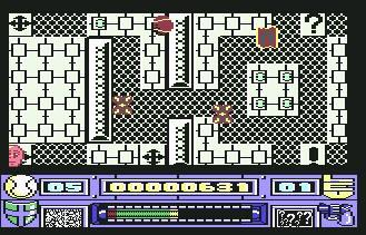 Pantallazo del juego online Re-Bounder (C64)