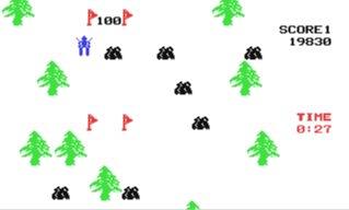 Juego online Ski (CBM) (C64)