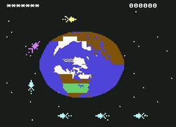 Juego online Space Sentinel (C64)