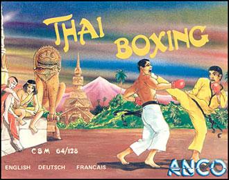 Juego online Thai Boxing (C64)