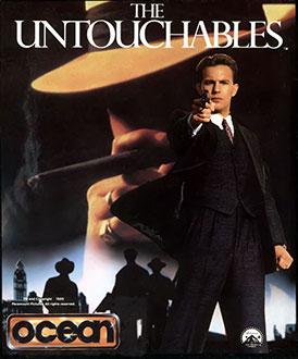 Carátula del juego The Untouchables (C64)