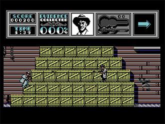 Pantallazo del juego online The Untouchables (C64)