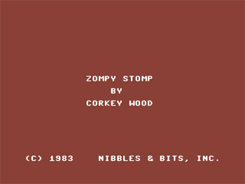 Juego online Zompy Stomp (C64)