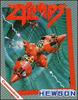 Juego online Zynaps (C64)