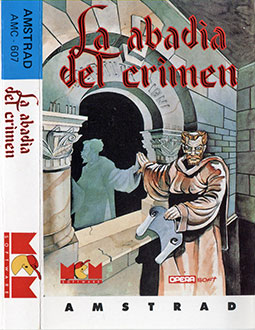 Juego online La Abadia del Crimen (CPC)